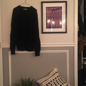 Cashmere blended navy blue sweater from Express